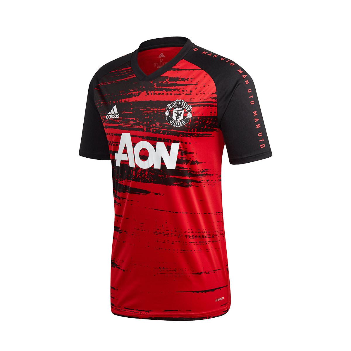 maglia adidas manchester united fc pre match 2020 2021 nino real red black negozio di calcio futbol emotion www plumascourt ca gov