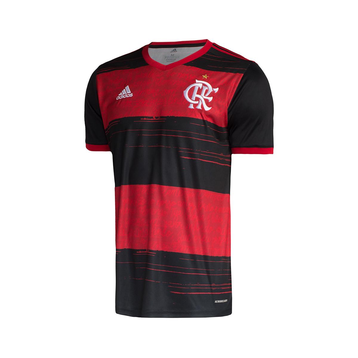 Camisola adidas Flamengo Equipamento Principal 2020 2021