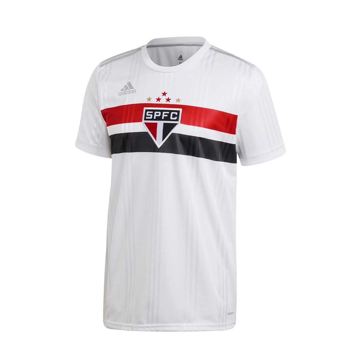 Camisola adidas São Paulo FC Equipamento Principal 2020 2021