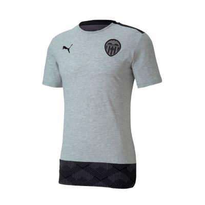 Casi orientación fluctuar  Polo shirt Puma Valencia CF Casuals 2020-2021 Light gray heather-Puma black  - Football store Fútbol Emotion