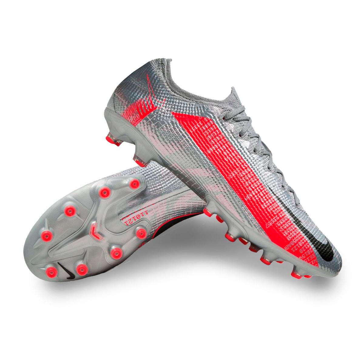 emitir Saturar masculino  Football Boots Nike Mercurial Vapor XIII Elite AG-Pro Metallic bomber  grey-Black-Particle grey-Lase - Football store Fútbol Emotion