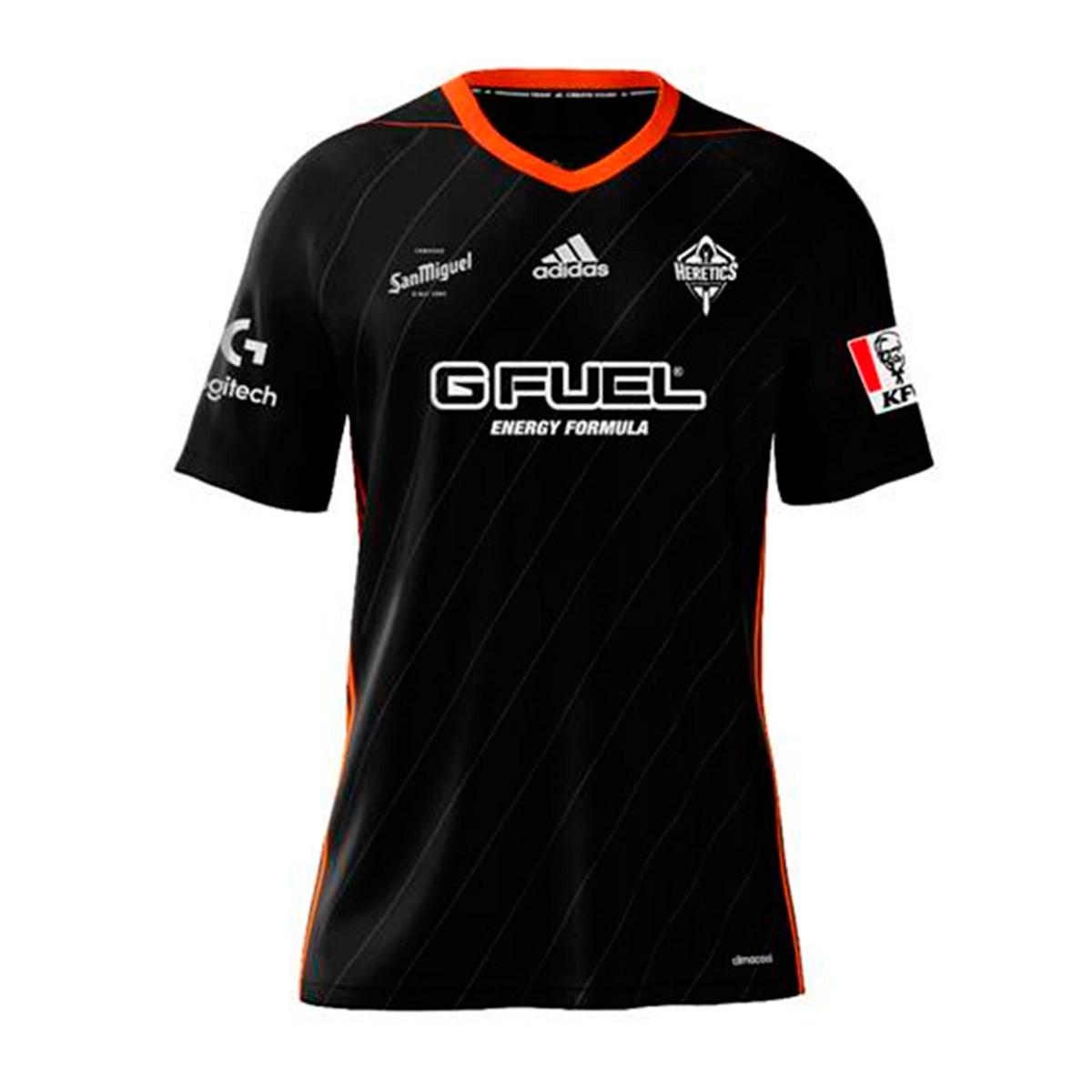 Aleta tornillo Triplicar  Camiseta adidas Heretics 2019 Black - Tienda de fútbol Fútbol Emotion