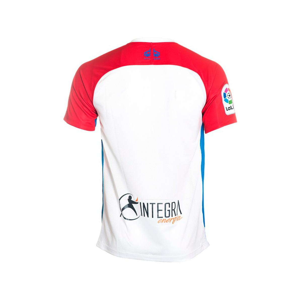 Jersey Nike Sporting de Gijón 2019-2020 Home White-Red - Football store  Fútbol Emotion