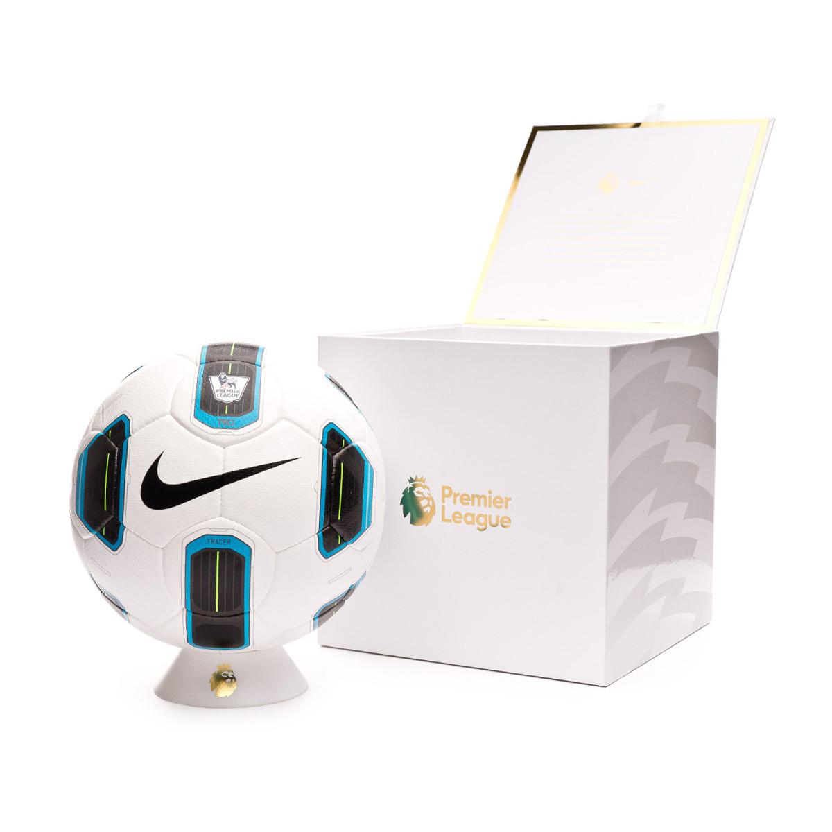amargo Oír de Nevada  Ball Nike Premier League Total 90 Tracer White-Black - Football store  Fútbol Emotion