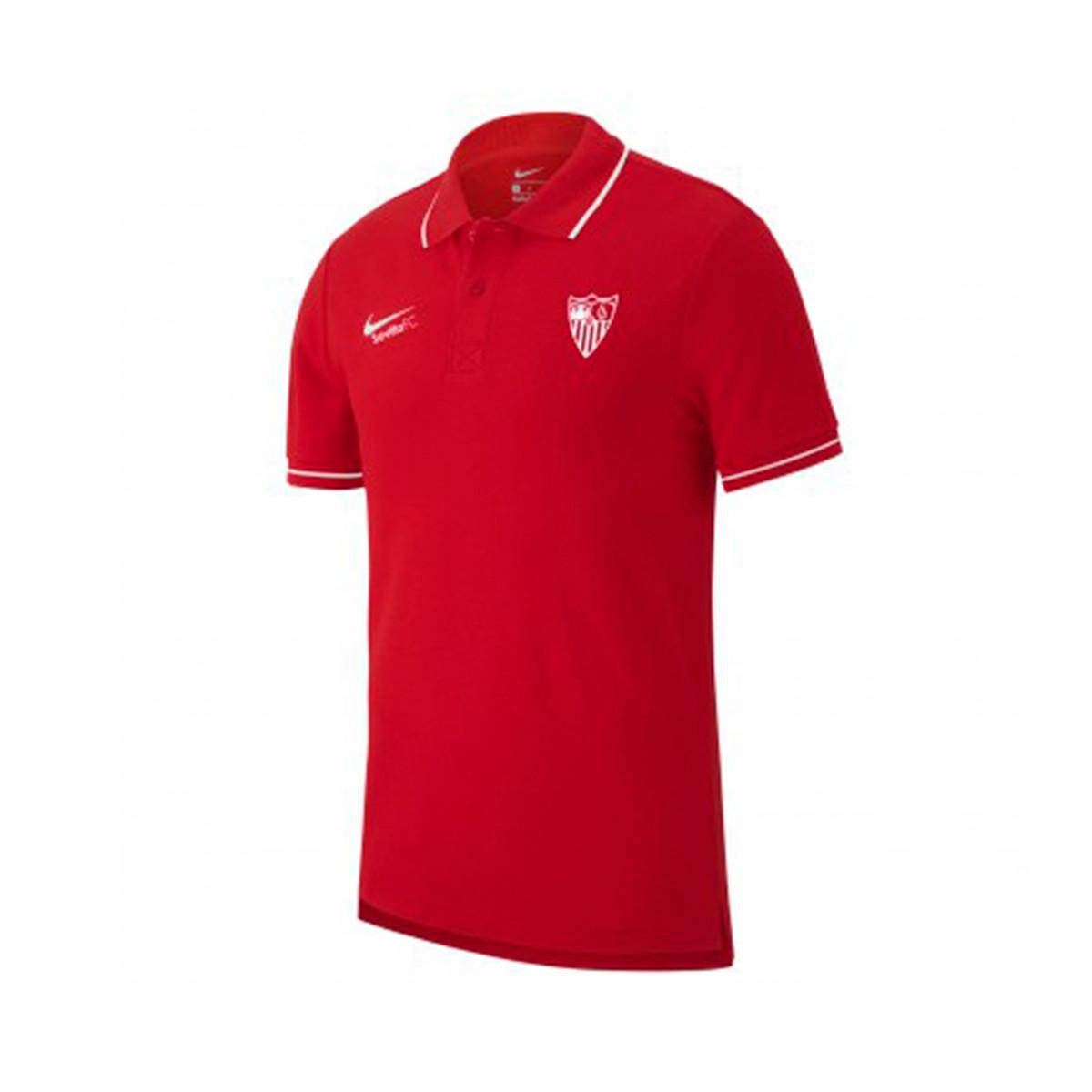 más baratas Tienda oficial Polo shirt Nike Sevilla FC Passeio 2019-2020 Red - Football store ...