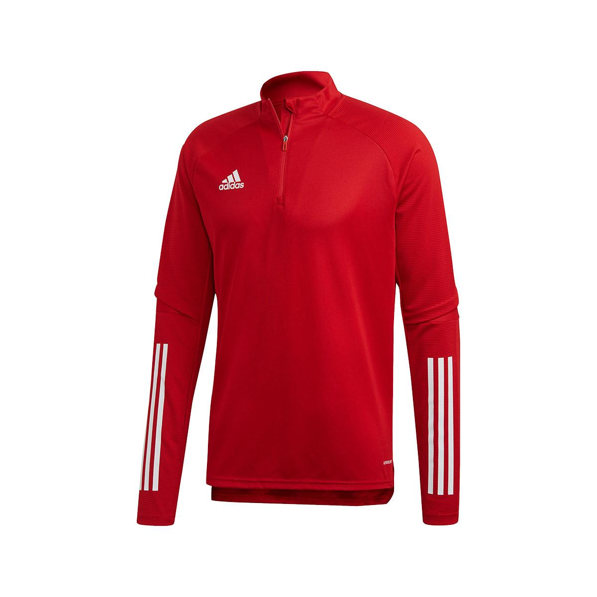 Sweatshirt Adidas Condivo 20 Training Power Red Futbol Emotion [ 1200 x 1200 Pixel ]