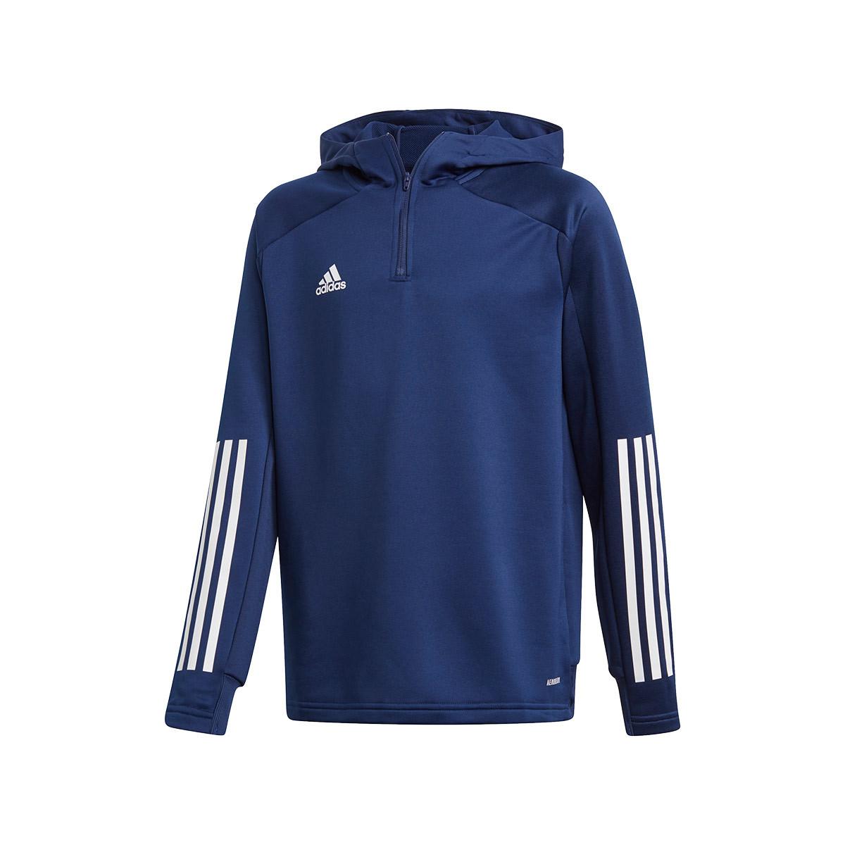 adidas hoodie navy blue