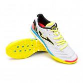 Futsal Boot Regate RFEF White-Blue-Yellow-Coral