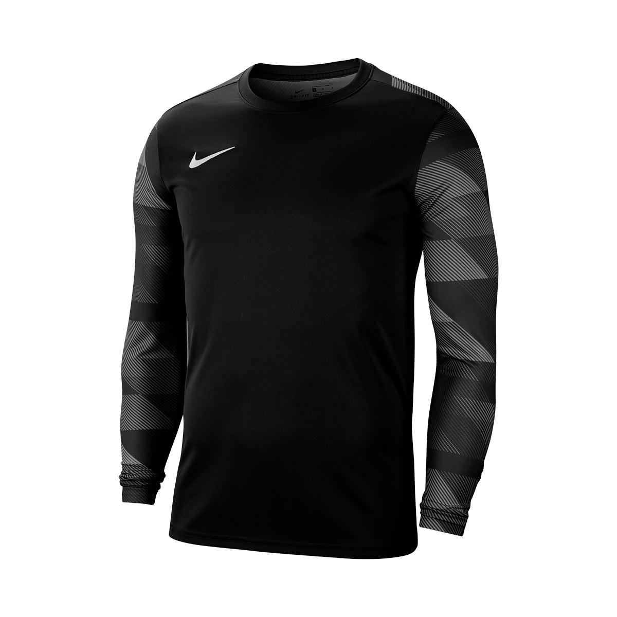 Camisola Nike Park IV Goalkeeper M/C Black-White - Fútbol Emotion