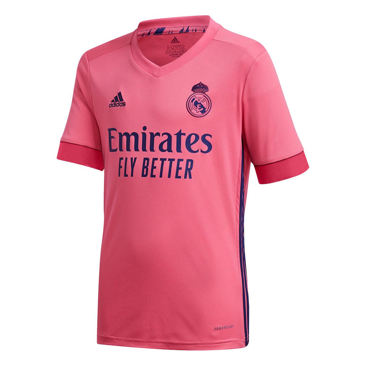 adidas Kids Real Madrid Away Jersey 2020-2021 Jersey