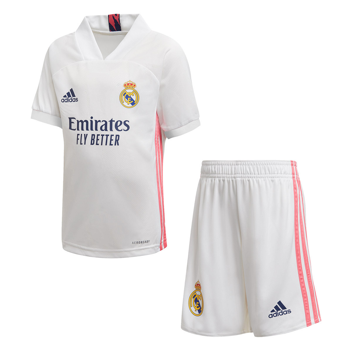 Completo adidas Real Madrid Primo Kit 2020-2021 Bambino