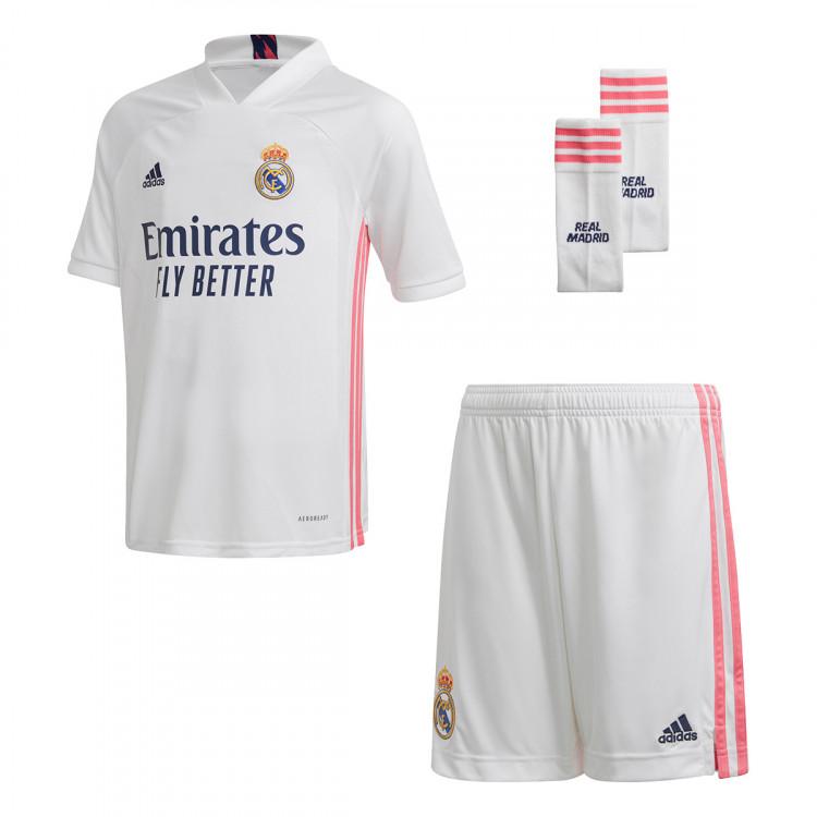 vela Detenerse carrera  Conjunto adidas Real Madrid Primera Equipación 2020-2021 Niño White -  Tienda de fútbol Fútbol Soccer Leaker