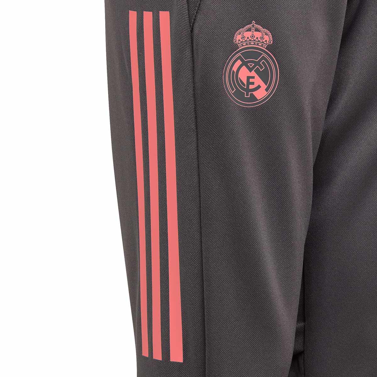 Long Pants Adidas Kids Real Madrid Training 2020 2021 Grey Five Futbol Emotion