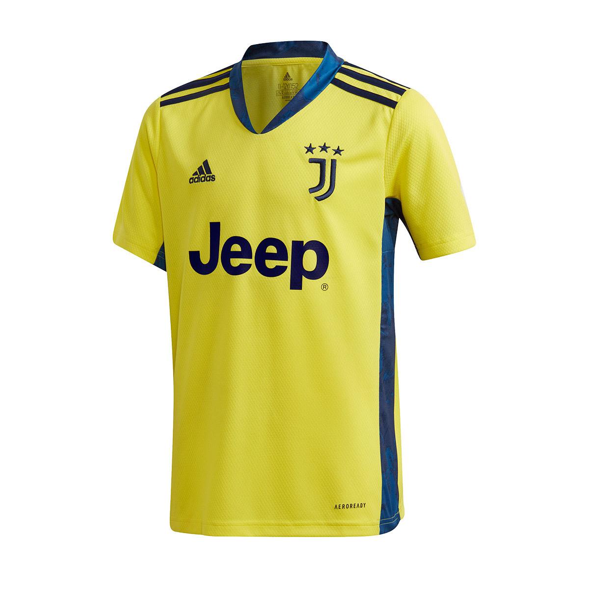 adidas Kids Juventus Goalkeeper Home Jersey 2020-2021 Jersey