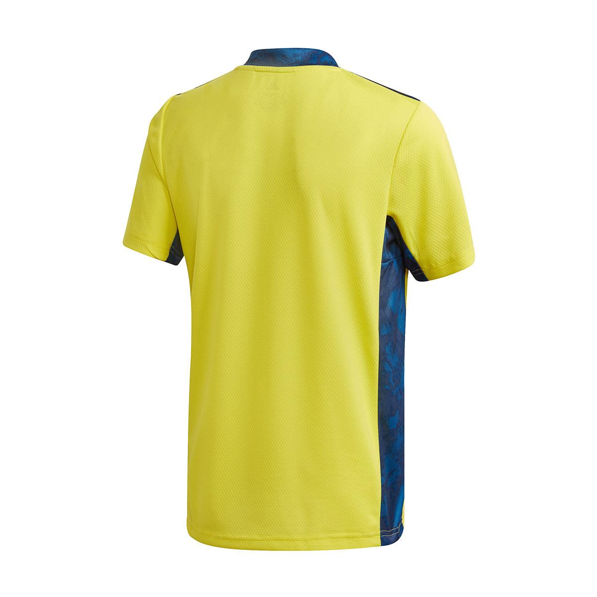 Jersey Adidas Juventus Portero Primera Equipacion 2020 2021 Nino Shock Yellow Team Navy Blue Football Store Futbol Emotion