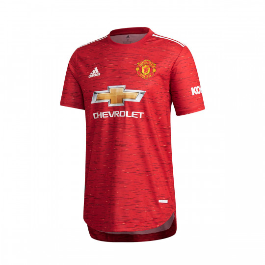 Jersey adidas Manchester United FC Home Jersey Authentic 2020-2021 Real red