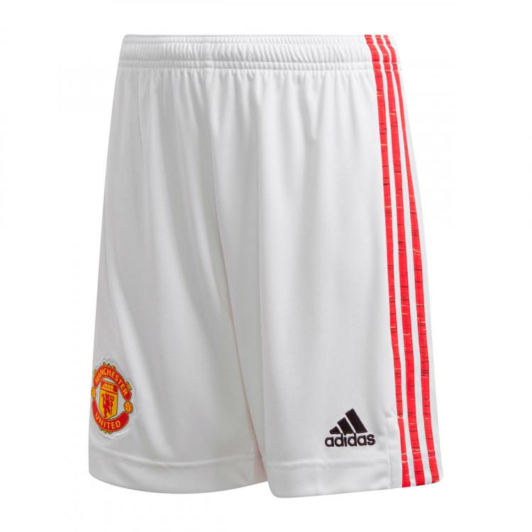Pantaloncini adidas Manchester United FC Primera Equipación 2020-2021 Niño