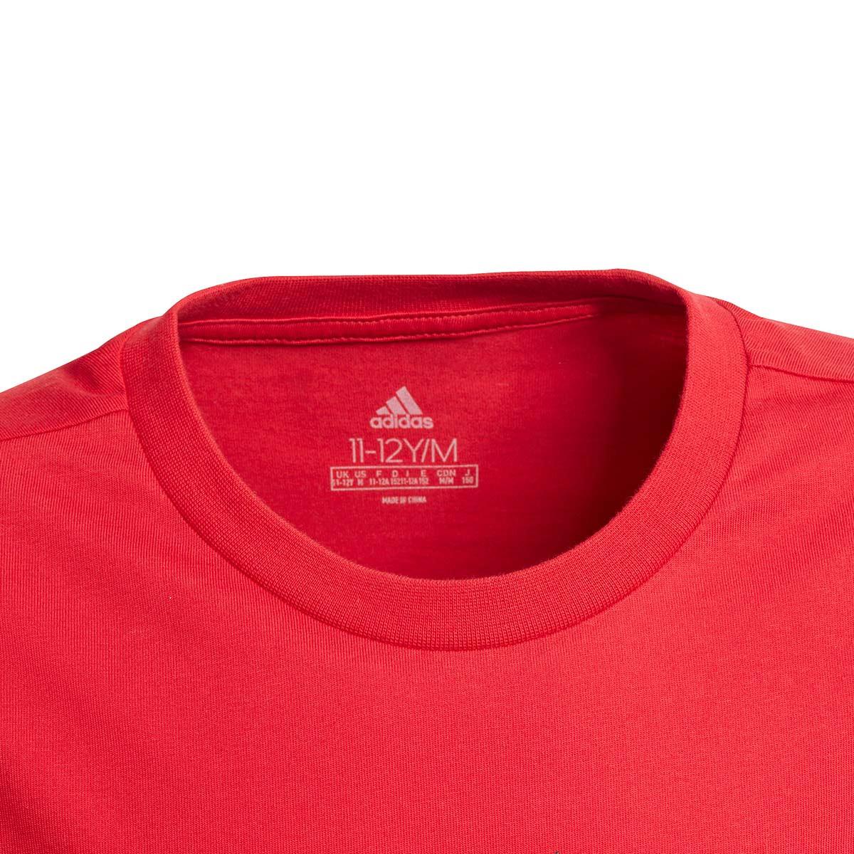 Jersey Adidas Manchester United Fc Gr Tee 2020 2021 Nino Real Red Football Store Futbol Emotion