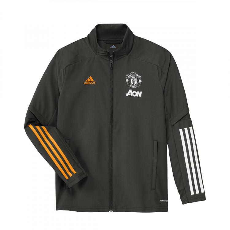 Jacket Adidas Manchester United Fc Presentation 2020 2021 Legend Earth Football Store Futbol Emotion