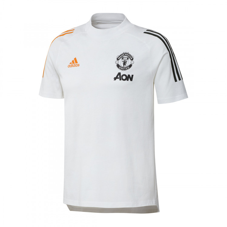 jersey adidas manchester united fc tee 2020 2021 white football store futbol emotion football boots
