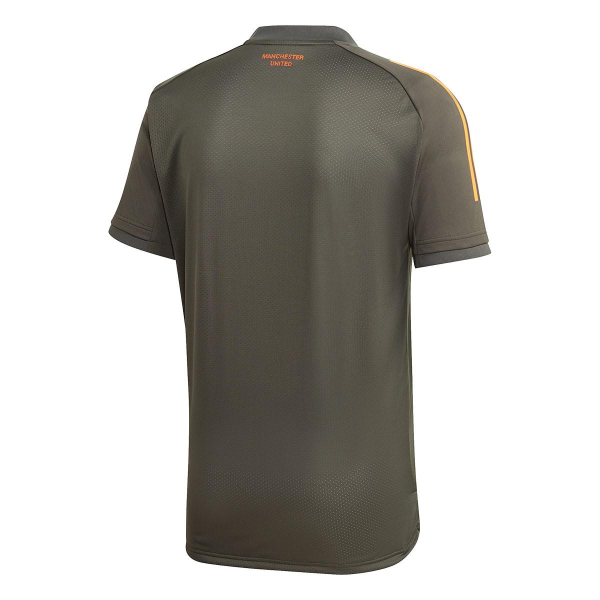 maglia adidas manchester united fc training 2020 2021 legend earth negozio di calcio futbol emotion maglia adidas manchester united fc training 2020 2021