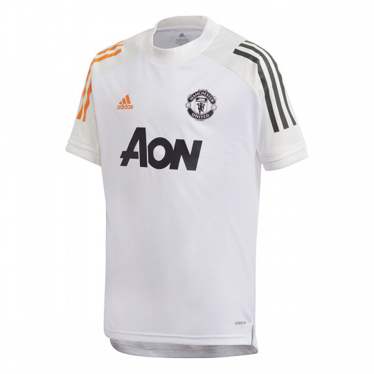jersey adidas manchester united fc training 2020 2021 white football store futbol emotion jersey adidas manchester united fc training 2020 2021 white