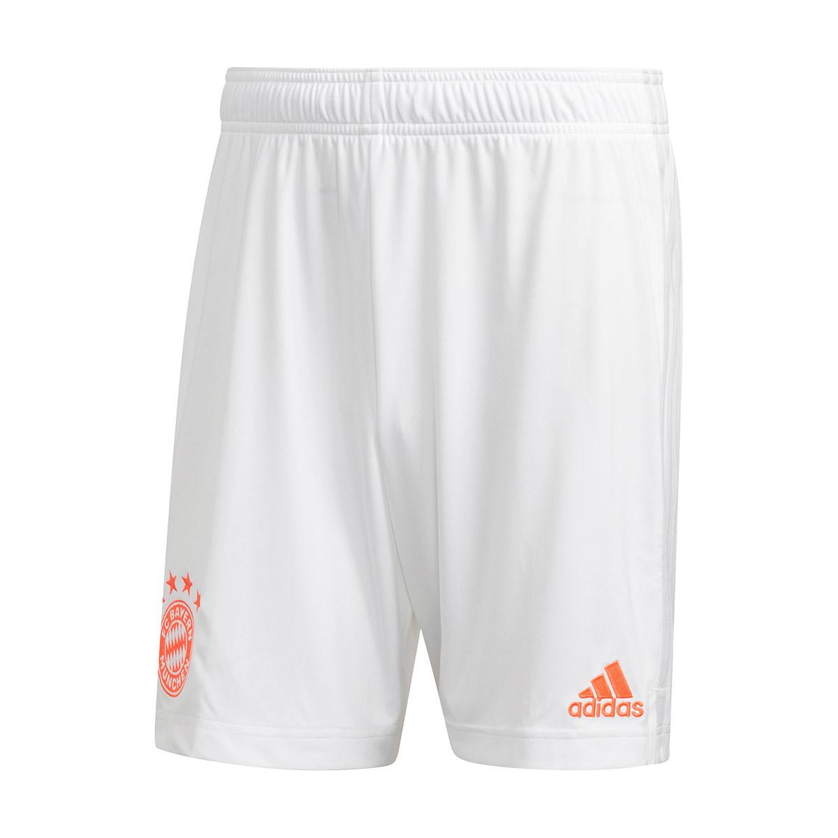 trimestre agenda Opinión  Pantalón corto adidas FC Bayern Munich Segunda Equipación 2020-2021 White -  Tienda de fútbol Fútbol Emotion