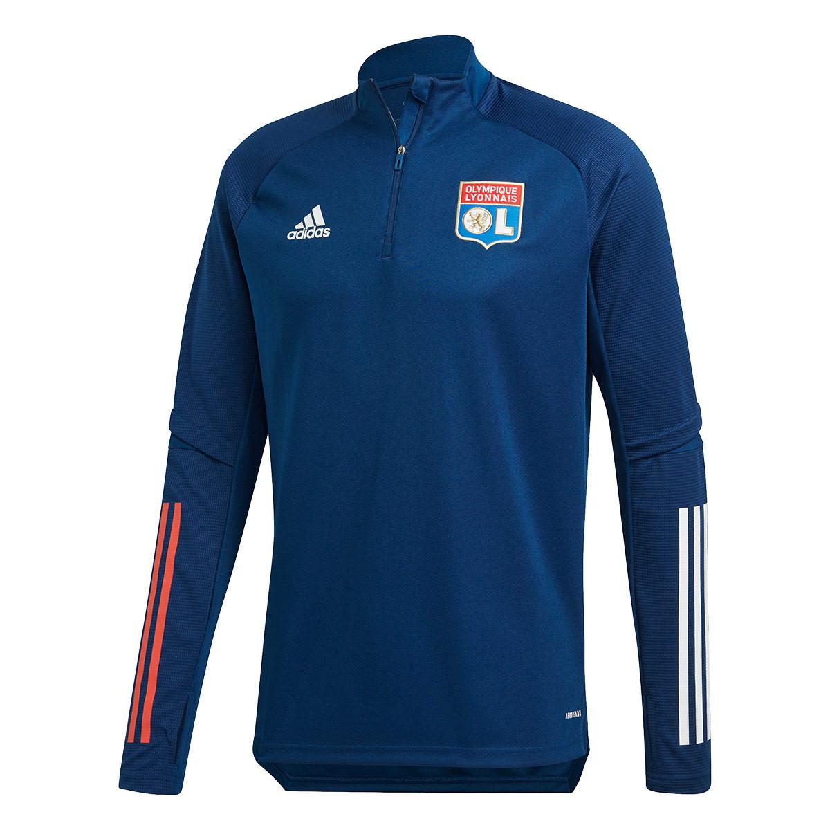 deshonesto parcialidad servidor  Sweatshirt adidas Olympique Lyon Training 2020-2021 Mystery blue - Football  store Fútbol Emotion