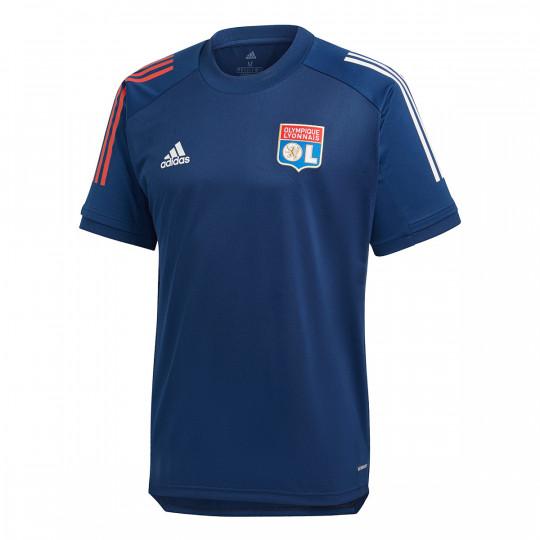 Maglia adidas Olympique Lyon Training 2020-2021 Mystery blue