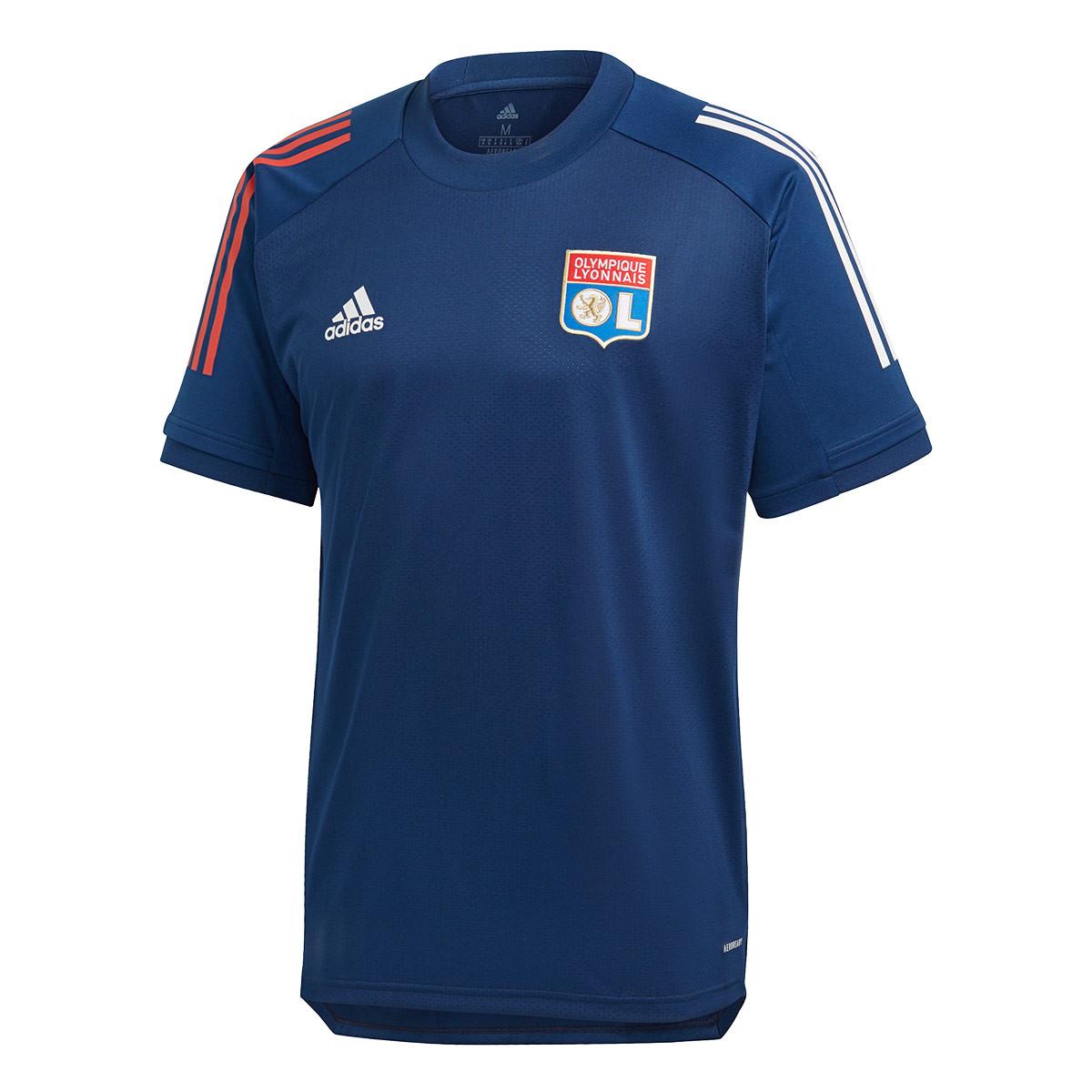Constitución arroz Girar  Jersey adidas Olympique Lyon Training 2020-2021 Mystery blue - Football  store Fútbol Emotion