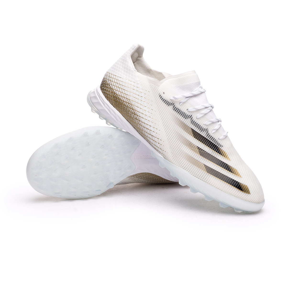 cama veterano repertorio  Football Boots adidas X Ghosted.1 Turf White-Black-Metallic gold melange -  Football store Fútbol Emotion