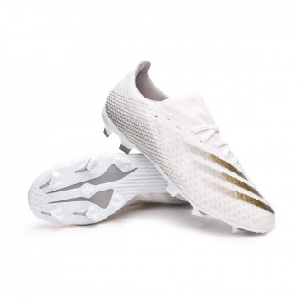 X Ghosted.3 FG White-Metallic gold melange-Silver metallic