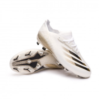 X Ghosted.1 FG Enfant White-Black-Metallic gold melange