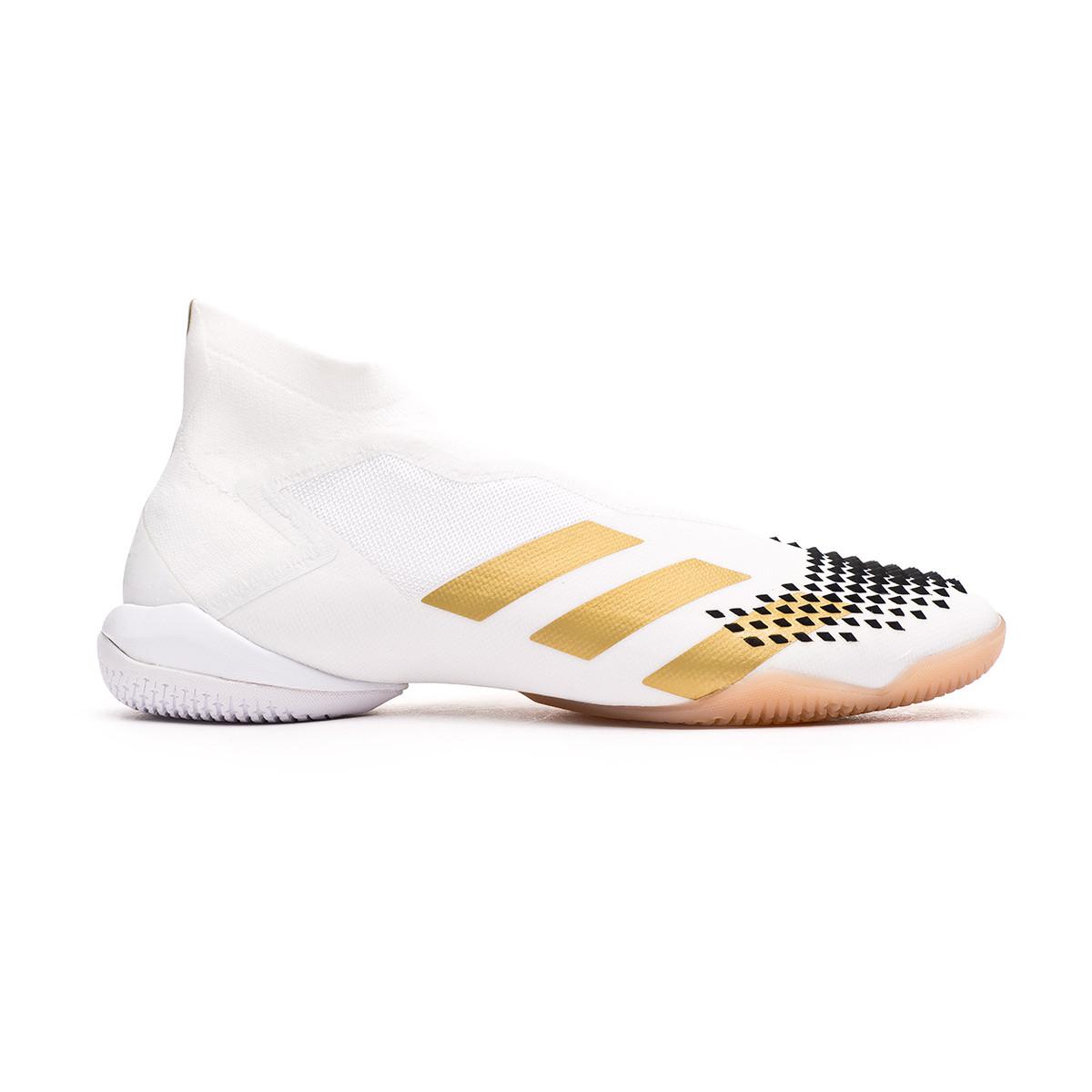 Chaussure de futsal adidas Predator Mutator 20 IN White-Metallic ...
