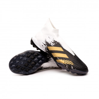Predator Mutator 20+ Turf White-Metallic gold-Black