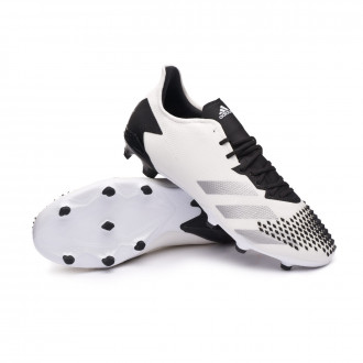 Predator 20.2 FG White-Silver metallic-Core black