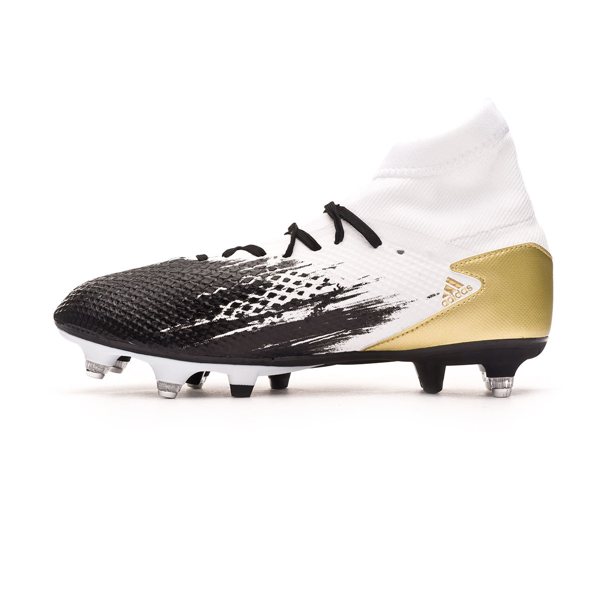 Football Boots Adidas Predator 20 3 Sg White Gold Metallic Core Black Football Store Futbol Emotion
