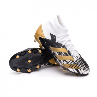 Predator Mutator 20.1 FG Niño White-Gold metallic-Core black