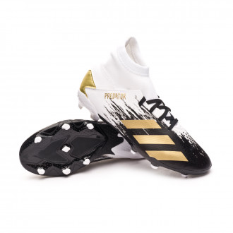 Predator 20.3 FG Niño White-Gold metallic-Core black