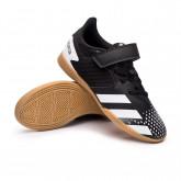 Sapatilha de Futsal Predator 20.4 HL IN Sala Criança Bright yellow-Core black-Signal orange