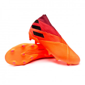 Nemeziz 19+ FG Signal coral-Core black-Glory red