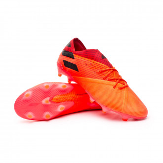 Nemeziz 19.1 FG Signal coral-Core black-Glory red