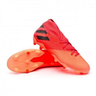 Nemeziz 19.3 FG Signal coral-Core black-Glory red