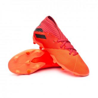 Nemeziz 19.3 FG Enfant Signal coral-Core black-Glory red