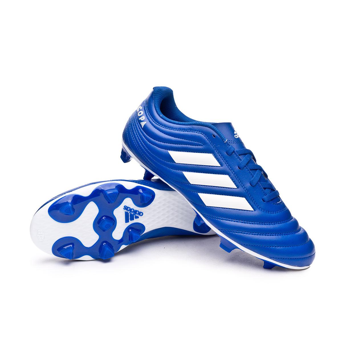 sabor dulce implicar doce  Football Boots adidas Copa 20.4 FG Team royal blue-White-Team royal blue -  Football store Fútbol Emotion