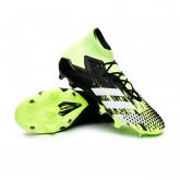 Zapatos de fútbol Predator Mutator 20.1 FG Signal green-White-Core black