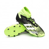 Zapatos de fútbol Predator Mutator 20.1 FG Niño Signal green-White-Core black