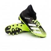 Zapatos de fútbol Predator 20.3 MG Niño Signal green-White-Core black