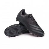 Zapatos de fútbol X Ghosted.4 FxG Niño Core black-Grey six-Core black