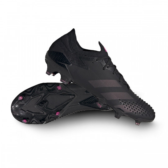 Chaussure de foot adidas Predator Mutator 20.1 L FG Core black Shock pink